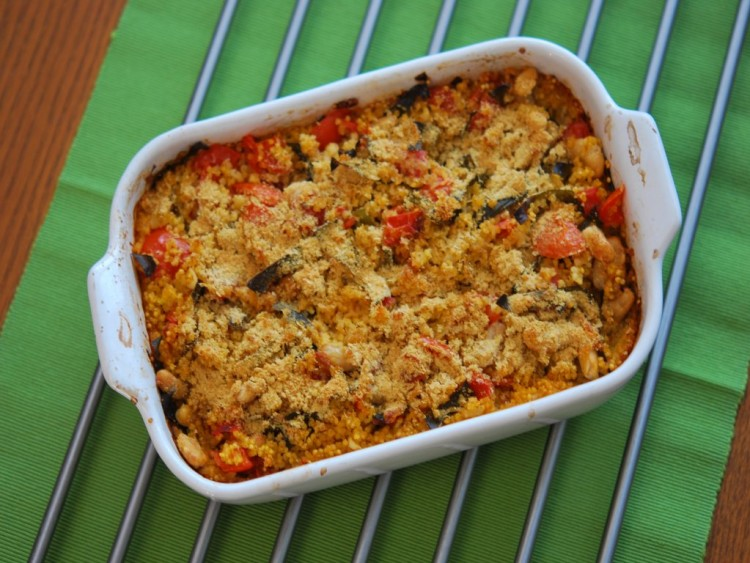 zapekana quinoa